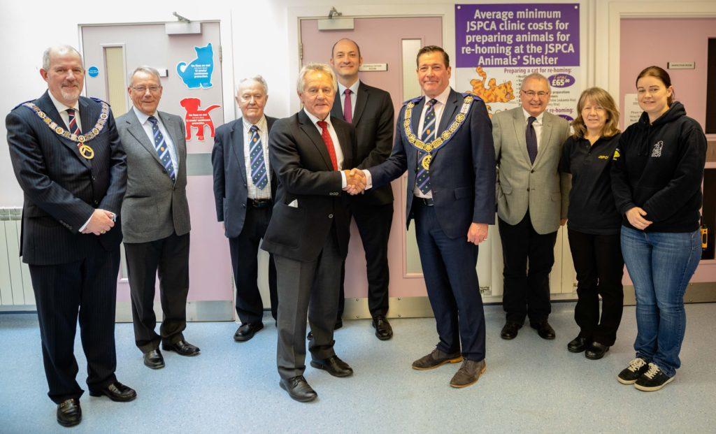 £10,000 Donation to JSPCA